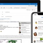 Microsoft Outlook в мобильной версии с поддержкой нового протокола