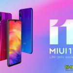 MIUI 11 попадает на еще 12 смартфонов