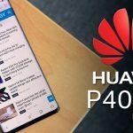 Первые фотографии Huawei P40 Pro