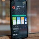 Opera с новой версией для Android