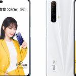 Realme x50m представлен официально: крепкий и недорогой середнячок