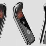 Инфракрасный термометр + биометрический сканер, который регистрирует посещаемость сотрудников, а также состояние здоровья!