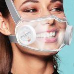 Многоразовая прозрачная маска, не скрывающая эмоций! Ее можно почистить в посудомоечной машине (фото + видео)