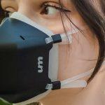 Первая в мире противовирусная маска для лица с активной УФ-стерилизацией позволяет дышать 99% чистым воздухом (фото + видео)