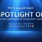 Глобальная премьера Xiaomi Mi 11 и MIUI 12.5 запланированы на 8 февраля