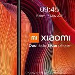 Xiaomi патентует слайдер-смартфон с двумя экранами