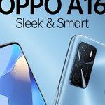 Смартфон Oppo A16 представлен официально